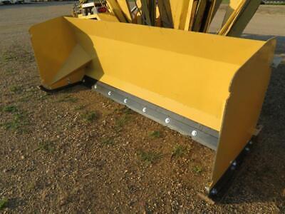 New 8 Skid Steertractor Loader Snow Box Pusher Plow Blade Bobcatjohn Deere 96