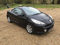 58 Peugeot 207 SPORT CC HDI DIESEL CABRIOLET/CONVERTIBLE FSH 2 OWNERS
