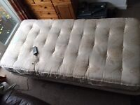 Craftmatic Electric SINGLE Bed fully working