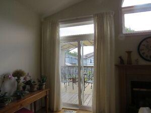 2 Panels of Lined Curtains / Draperies  $50 OBO Kingston Kingston Area image 2
