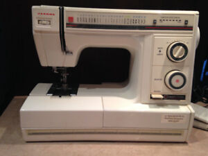 machine a coudre janome model sx-2122 MADE IN CANADA