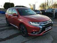 2015 Mitsubishi Outlander PHEV GX 4H PETROL/ELECTRIC red Semi Auto