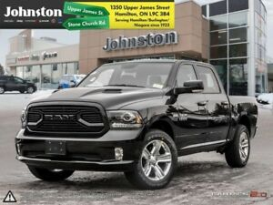 2018 Ram 1500 Sport  - Leather Seats -  Cooled Seats - $138.46 /