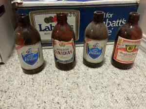 Antique Collectable Beer Bottles