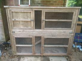 Large Rabbit Hutch/Cage