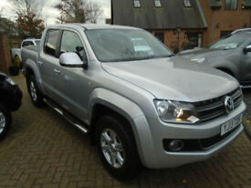 2013 Volkswagen Amarok 2.0BiTDi ( 163PS ) Highline 4MOTION (17000 MILES ) NO VAT