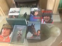 Horse racing hardback books