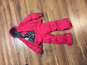 """Columbia"" girls winter jacket and snow pants"