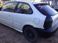 98' Honda Civic hatchback 5spd