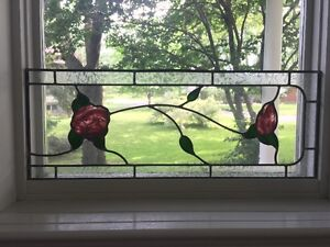 Architectural Art --Beautiful Stained Glass Window Inserts