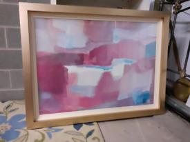 Large Framed Paint