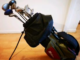 Golf Set (clubs and freestanding bag)