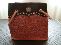 Ideal for Stampede... Cowgirl purse Montana Silversmith in pink