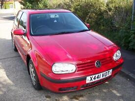 Volkswagen Golf 1.4 2001MY S