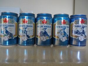 BLUE JAYS BASEBALL COLLECTOR CANS FROM LABATTS Kitchener / Waterloo Kitchener Area image 2