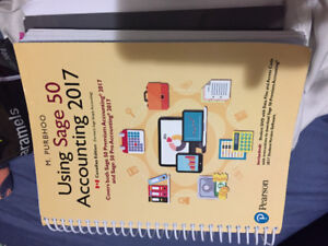 Using Sage 50 Accounting 2017 Textbook