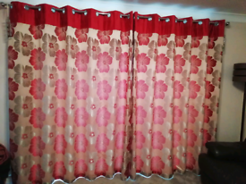 Curtains -lounge and dining room
