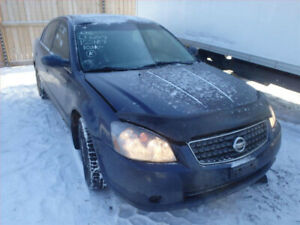NISSAN ALTIMA (2002/2006 PARTS PARTS ONLY )