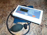 SUNBEAM DIGITAL BLOOD PRESSURE METER MODEL 7590