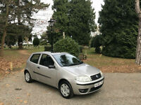 2005/55 Fiat Punto 1.2 Active 3 Door Hatchback Silver
