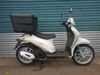 PIAGGIO LIBERTY 125 DELIVERY WHITE - BRAND NEW PERFECT FOR DELIVEROO / UBER EATS