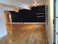 Bureau / Espace studio Penthouse dans le Vieux-Montréal