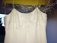Wedding Dress Ivory, Size 8