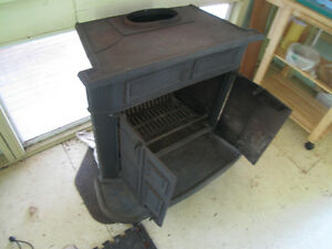 Antique, wood stove, $90, detailed photos enclosed