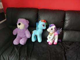 Teddy bear .ponys