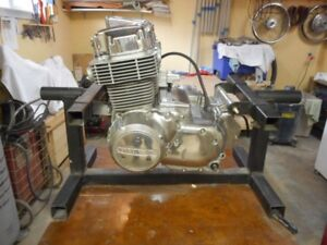 Motorcycle Engine Stand for rebuilding