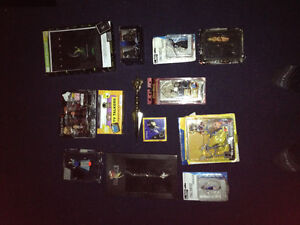 Final Fantasy memorabilia and various others.