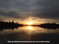 Lake of the Woods Area - 11.32 Acre Shoal Lake, On lot for sale