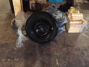 BRAND NEW Continental ProContact TX Tires (195/65/15) Steel Rims