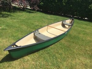 Great Pelican Canoe 15' and comes with everything you need.