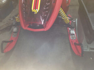 1 set of red skis $150 & lots of rev parts & zx 1998-2010