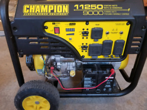 Champion 11250 generator used once asking $1100 obo