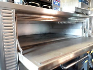 Pizza Deck Oven. Blodgett, Gas