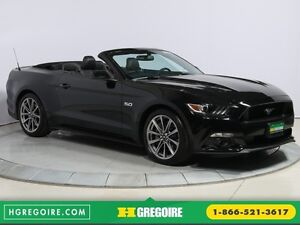 2016 Ford Mustang GT Premium AUTO CUIR DÉCAPOTABLE NAV MAGS BLUE