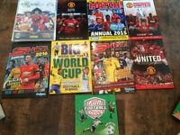 Football Annuals & Football Cards