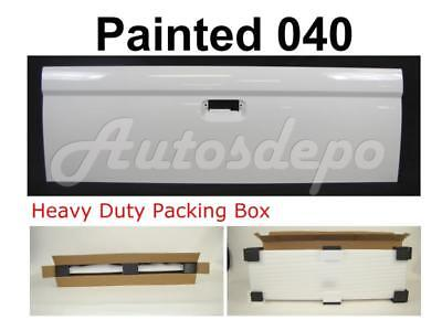 04 Toyota Tacoma Tailgate (NEW Painted Super White 040 Rear Tailgate For 95-04 Toyota Tacoma Standard)