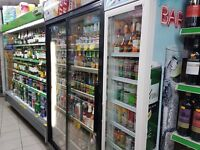 Off Licence shop for sale with 2 bedrooms