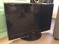 "LG 37"" flat screen tv"