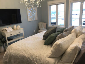 Monthly Rental, Furnished Waterfront Condo Downtown, Util inc.