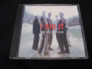 Dave Matthews Band-I Did It-1 song promo cd
