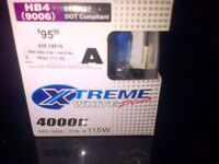 1 Pair PIAA extreme bulbs