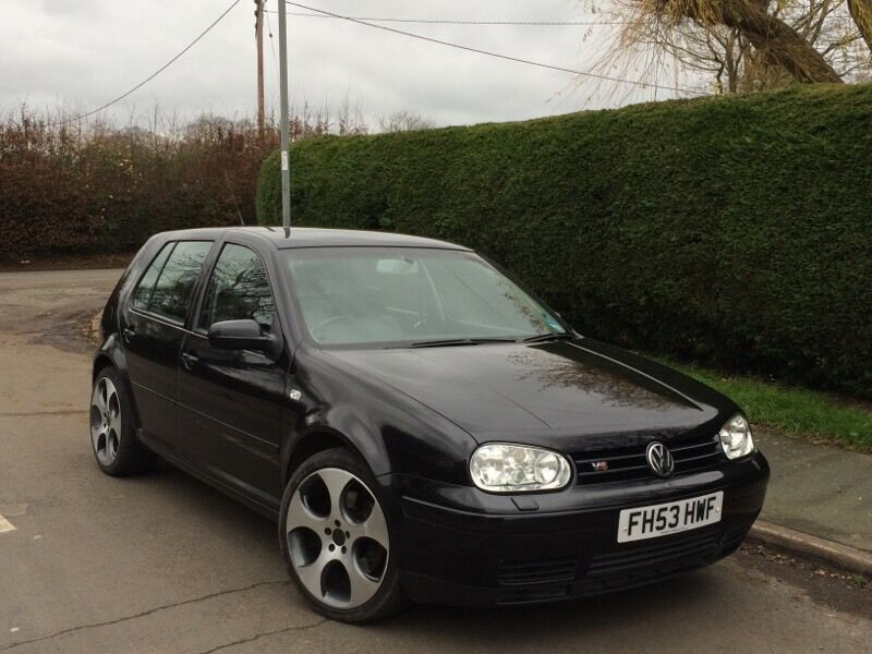 2003 vw volkswagen golf 2 8 v6 4motion petrol 5dr black in chesham buckinghamshire gumtree. Black Bedroom Furniture Sets. Home Design Ideas