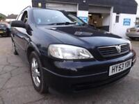 Vauxhall/Opel Astra 1.7DTi 16v 2004 Club P/HIST 7 STAMPS