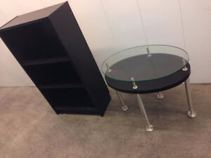 Small Bookshelf & Side table  -  DELIVERY