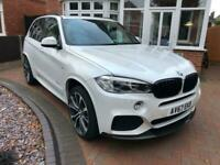2017 BMW X5 xDrive40d M Sport 5dr Auto [7 Seat] M PERFORMANCE ESTATE Diesel Auto