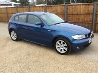 2005 05 BMW 1 SERIES 2.0 118I SE 5D AUTO